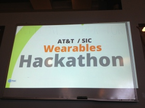 #atthack AT&T Wearables Hackathon